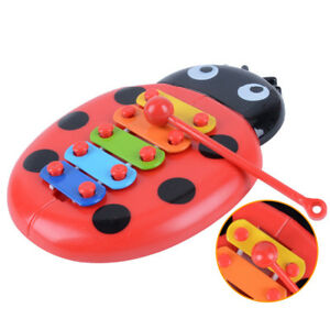 1-x-Bebe-Bimbo-Musicale-Educativo-INSETTO-PIANOFORTE-PRIMO-strumento-giocattolo