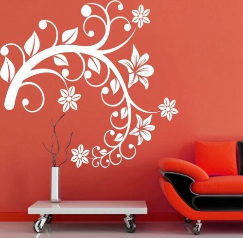 Wall Sticker Swirl Tree Branch Living Room Décor Vinyl Picture Art