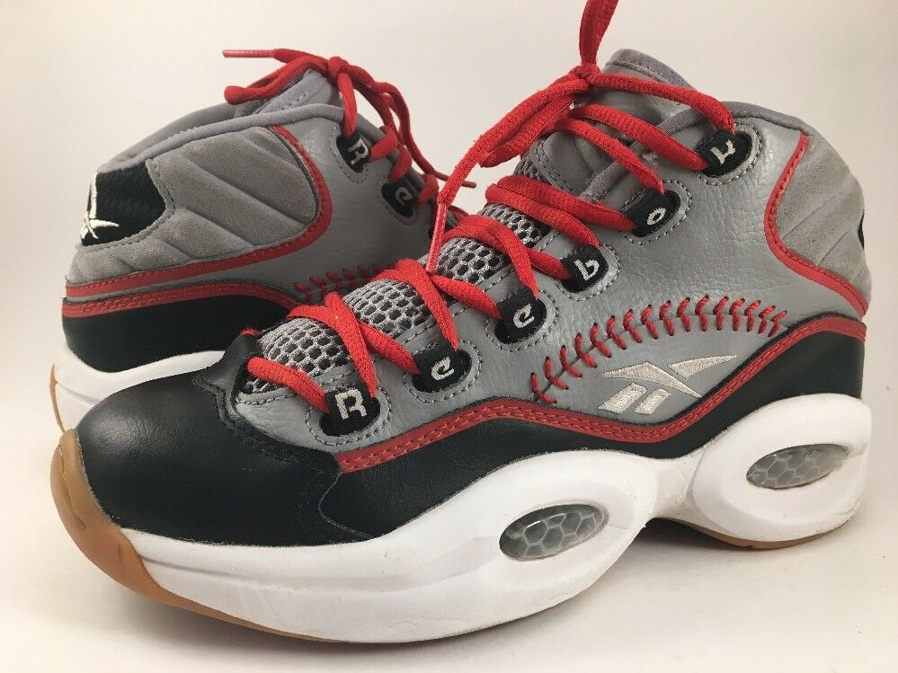 SZ 6 REEBOK QUESTION MID PRACTICE BASEBALL MEN'S IVERSON BASKETBALL SHOES V67904