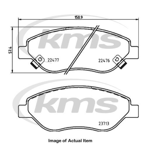 New Genuine TEXTAR Brake Pad Set 2247601 Top German Quality