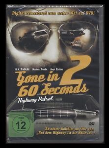 DVD GONE IN 60 SECONDS 2 - HIGHWAY PATROL (Nur noch 60 Sekunden) *** NEU ***