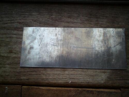 1.8mm code 4 thickness LEAD SHEET 240mm x 110mm x