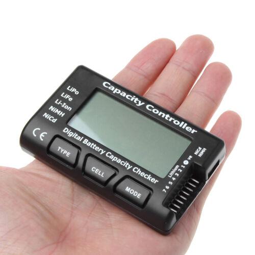 Digital Battery Capacity Controller Checker For NiMH Nicd LiFe LiPo Li-ion