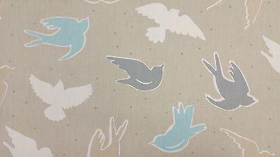 Clarke and Clarke Seabirds Surf Designer Curtain Upholstery Fabric
