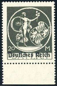 DR-1920-MiNr-138-III-tadellos-postfrisch-Fotobefund-Weinbuch-Mi-400