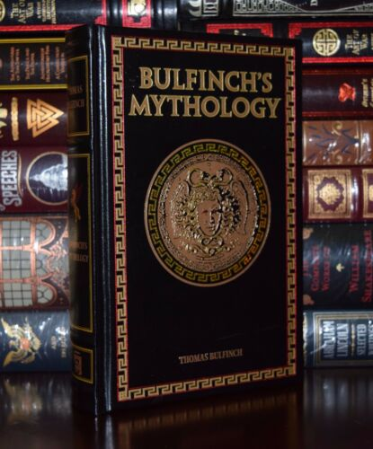 Bulfinch/'s Mythology by Thomas Bulfinch New Leather Bound Collectible Hardcover