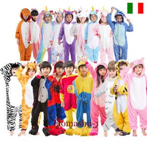 Pigiama-kigurumi-costume-carnevale-bimbi-bambini-cosplay-animali-tuta-party