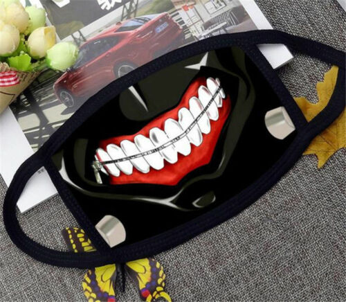 US Seller Tokyo Ghoul Kaneki Ken Cosplay Cloth Medical Cloth Dust Mask Anime