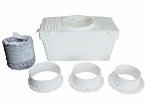 Tumble-Dryer-Mountable-Vented-Condenser-Box-Kit-Vent-Hose-Pipe-For-White-Knight