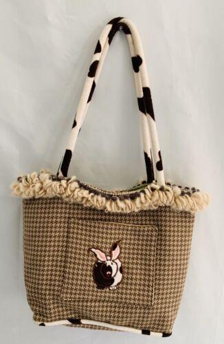 Cowbunnies Purse/ Handbag By Susie Stern
