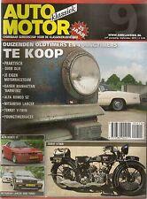 AUTO MOTOR KLASSIEK 2011 9 ALFA ROMEO SZ KAISER MANHATTAN MITSUBISHI LANCER 2000