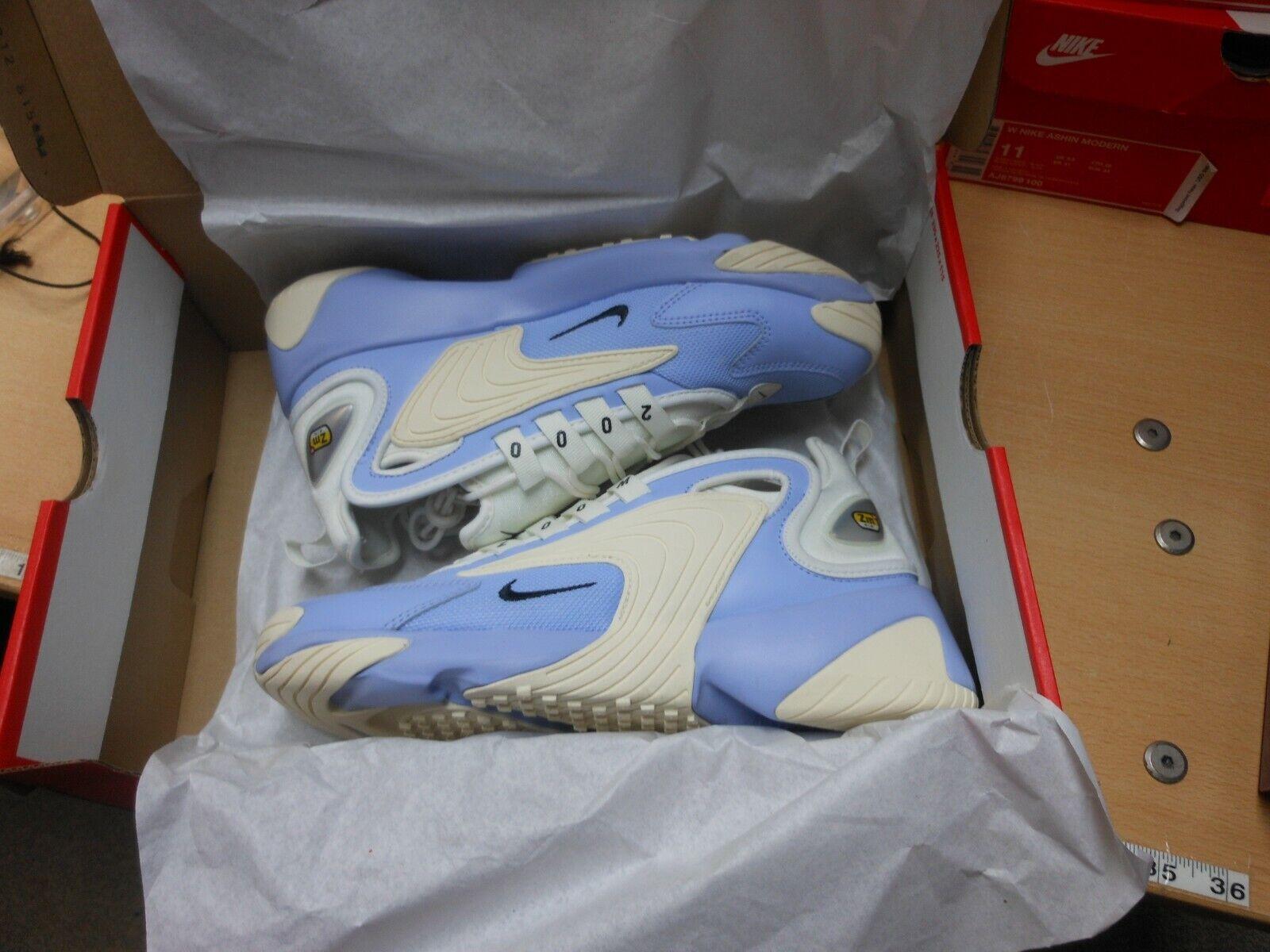 Nike sz  9 Wouomo ZOOM AIR 2K CASUAL scarpe da ginnastica   Scarpe NUOVE AO0354 400 w argento  vendite online