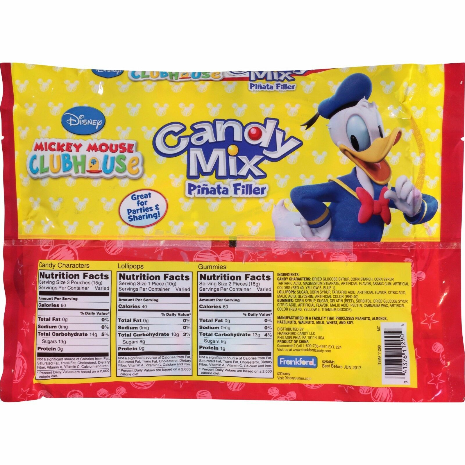 Disneys Mickey Mouse Clubhouse Candy Mix Pinata Filler | eBay