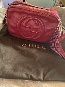 Gucci-Soho-Disco-Cross-Body-Pink-Leather-Bag