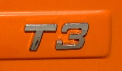 NEU Schriftzug // Chrom VW Bus T3