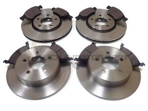 CHRYSLER GRAND VOYAGER 2.5 CRD 01-07 FRONT /& REAR BRAKE DISCS /& PADS CHECK SIZE