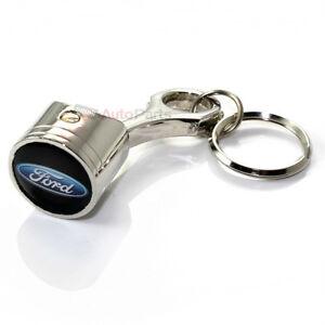 Accessoires & Fanartikel SchnäPpchenverkauf Zum Jahresende Automobilia Preiswert Kaufen Ford Klassisch Oval Logo Chrom Metall Kolben Schlüsselanhänger Ring