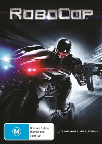 1 of 1 - Robocop (DVD, 2014) J Kinnaman G Oldman M Keaton A Cornish SL Jackson LIKE NEW