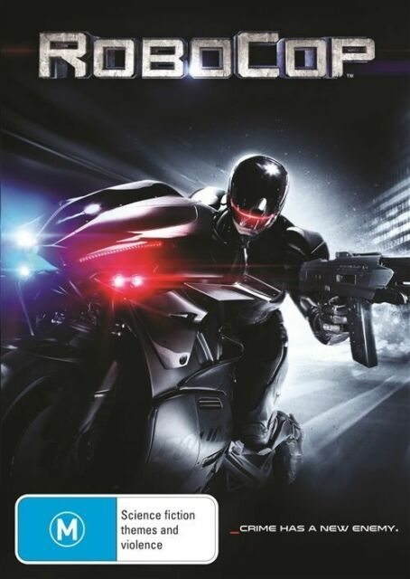 Robocop (DVD, 2014) J Kinnaman G Oldman M Keaton A Cornish SL Jackson LIKE NEW