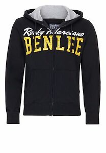 Benlee-Rocky-Marciano-Men-Hooded-Zipsweat-Westside-Hoody-schwarz