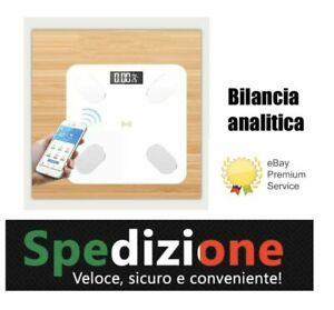BILANCIA-BMI-Digitale-Pesapersone-Bluetooth-Intelligente-ossa-massa-grassa