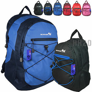 39c6aa5258f2 Image is loading Backpack-Rucksack-Men-Ladies-Teenage-Boy-Girl-School-
