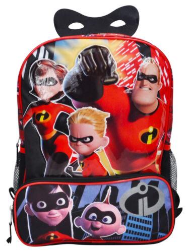... Incredibles 2 Disney Pixar Boys School Book Bag Backpack Mask SET Kids  Children fee69364d57c7