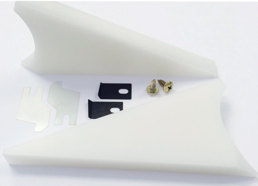 Ink Duct End Blocks For Heidelberg SM74 Speedmaster Offset Parts SM74  Set of 2