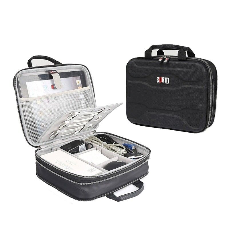 Electronic Accessories Organizer Waterproof Portable Travel Gadgets Storage Bag