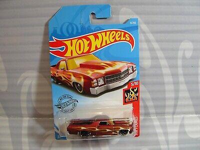 Hot Wheels 71 El Camino 5//10 1:64 8//250 2019 Mattel