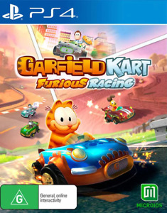 Garfield Kart Furious Racing PS4 Game NEW