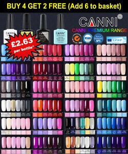 CANNI® UV Nail Gel Polish Soak Off LED Base Matte Tempered Top Coat Varnish