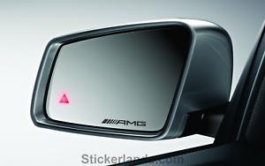 Mercedes AMG Mercedes-Benz  mirror sticker Vinyl decal Etched x4 All Mercedes