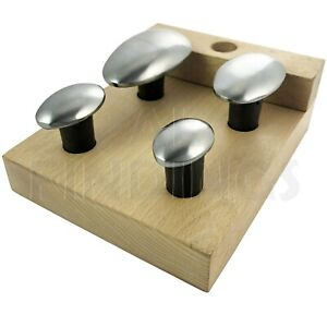 Spoon Anvil Stakes Highly Polished Set Of 4