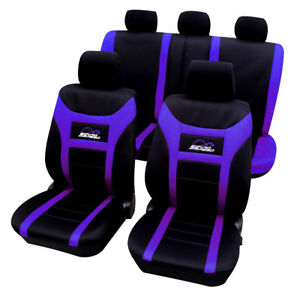 sitzbezug auto sitzbez ge sitzschoner f r pkw ohne seitenairbag lila as7259la ebay. Black Bedroom Furniture Sets. Home Design Ideas