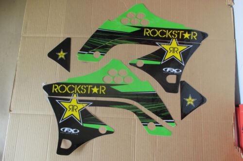 FX F X  TEAM ROCKSTAR KAWASAKI GRAPHICS KXF450 KX450F  2009 2010 2011