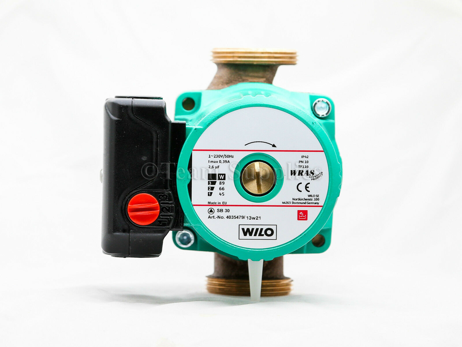 WILO SB 30 Bronze Secondary Hot Water Circulating Pump