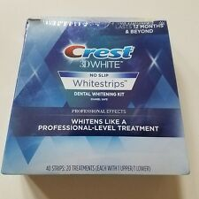 2019 Crest 3D White Luxe Professional Effects 40 Strips 20 Treat Whitestrips