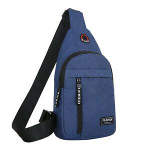 New-Men-Women-Nylon-Waist-Packs-Sling-Bags-Crossbody-Outdoor-Sport-Shoulder