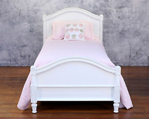 Ex-Display-Single-Bed-French-Provincial-Style-Mahogany-Antiqued-Kids-Furniture