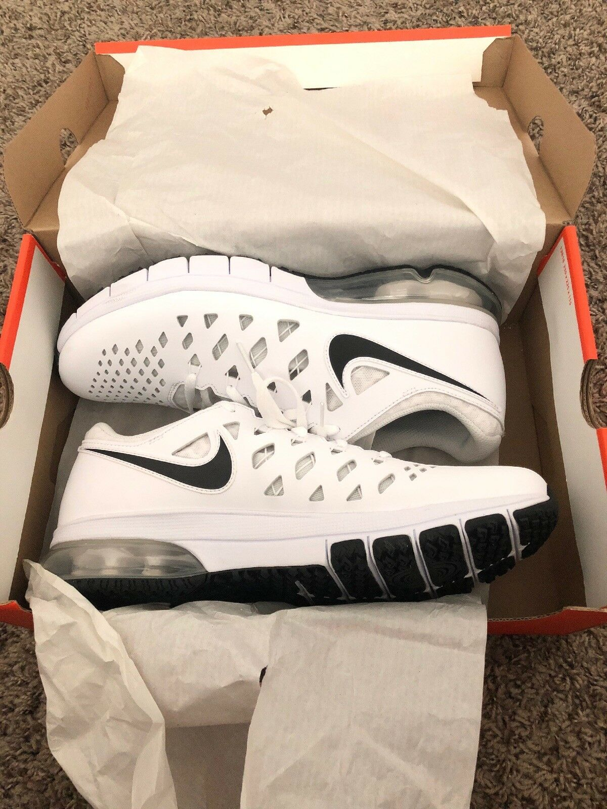 BRAND NEW NIKE AIR TRAINER 10 180 MEN'S SHOES SIZE 10 TRAINER WITH BOX c4b36e