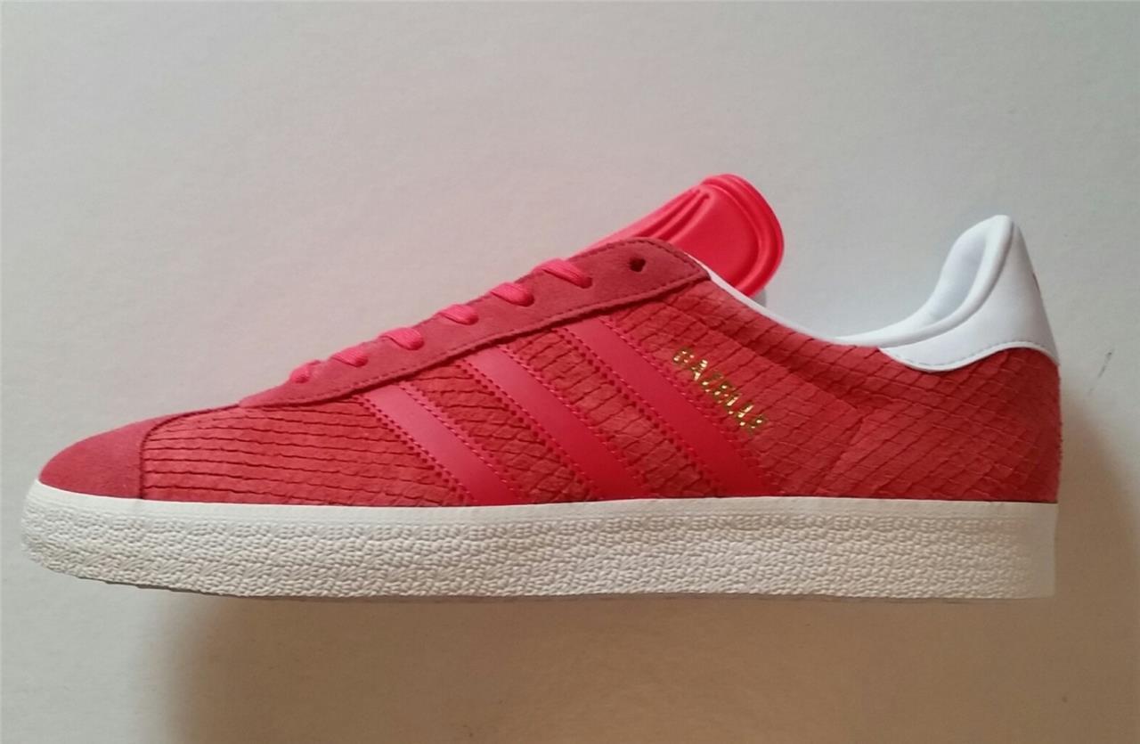 adidas Damenss gazelle trainer shoe retro core pink  new bb5174 uk 3.5,7,7.5,8