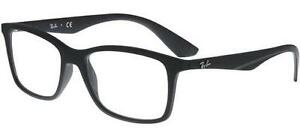 d0d5272871a RAY BAN 7047 54 5196 SATIN BLACK SIGHT GLASSES EYEWEAR GLASSES BLACK ...