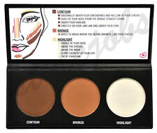 City Color Contour Effects Palette - Contour & Bronze & Hightlight