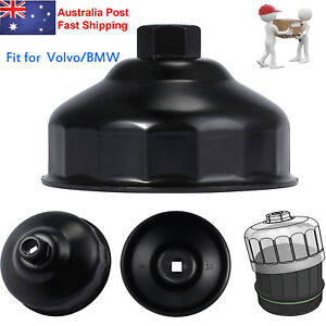 Details about For BMW Volvo Oil Filter Wrench Housing Cap Socket Removal  Tool 86mm 16 Flute AU