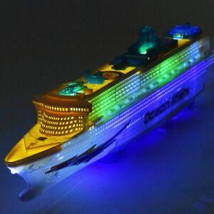Music-Cruise-Ship-Aidaluna-Model-Ship-Toy-LED-Flash-Cruise-Ship-US