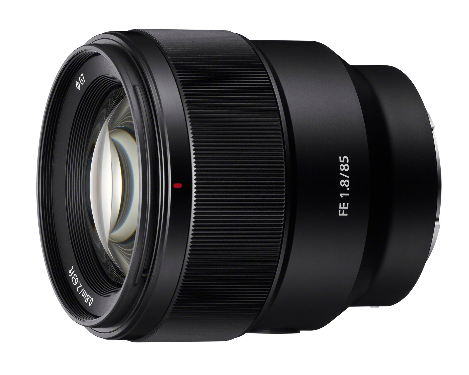 Sony Sel 85 85mm F 18 Fe Lens Ebay 24 105mm 4 G Oss Lensa Kamera Black Stock Photo