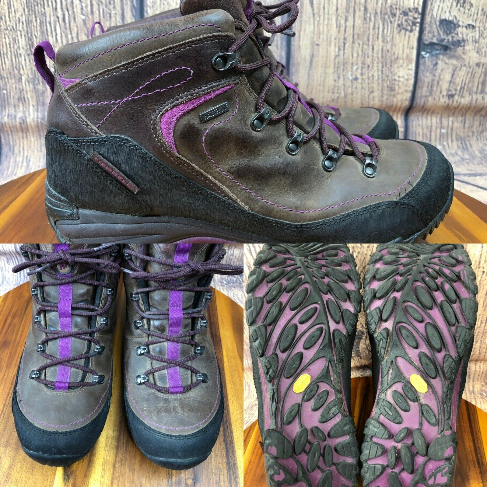 Womens MERRELL 'Chameleon Arc 2 Rival' Waterproof Hiking shoes Boots SIZE 10