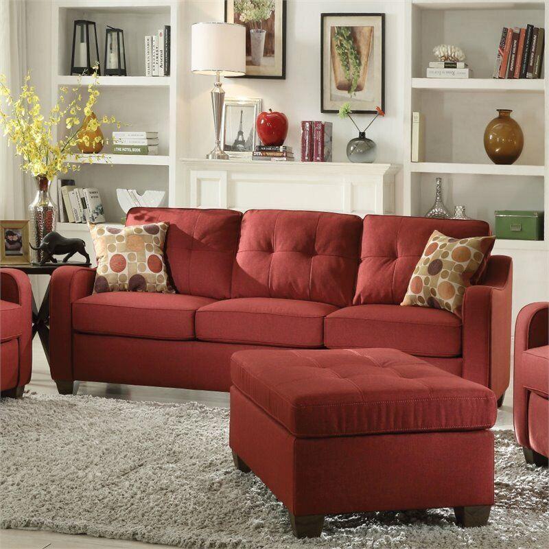 ACME Cleavon II Sofa in Red