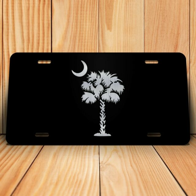 Palmetto Tree License Plate South Carolina Palmetto State